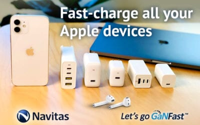GaNFast Chargers Enable Apple iPhone 12 High-Speed Charging Compatibility